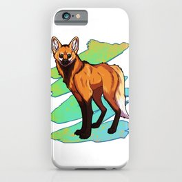 Maned Wolf iPhone Case