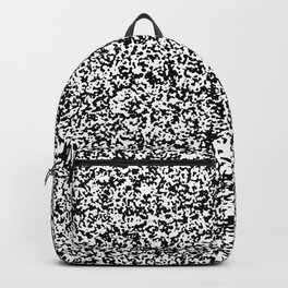 Tiny Spots - White and Black Backpack