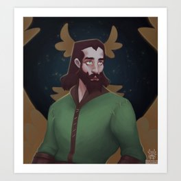 Warden Blackwall Art Print