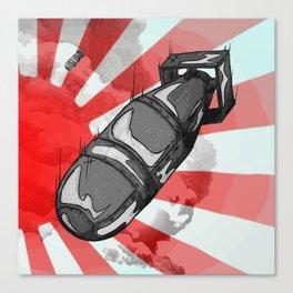 Atom Bomb Fat Boy Canvas Print