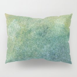 Pastel Abstract Watercolor Painting Pillow Sham