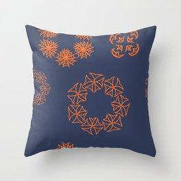 geometric fantasy Throw Pillow