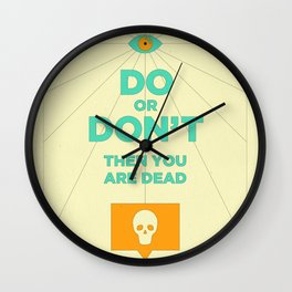 Do or Don't Wall Clock
