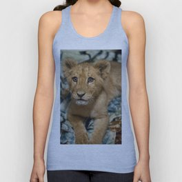 Lambert the Lion and His Blanket Unisex Tank Top