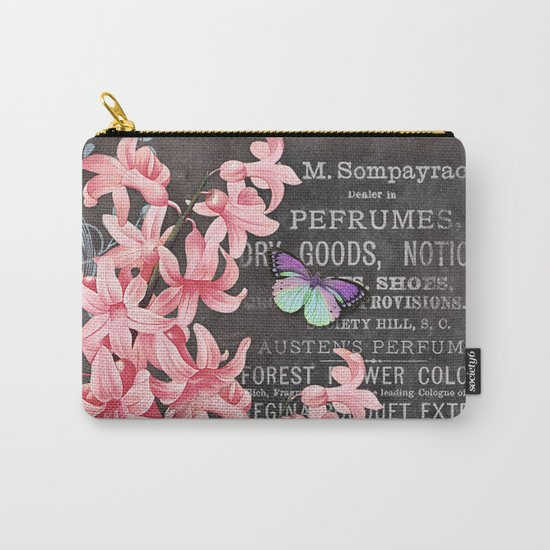 Vintage Flowers #1 Carry-All Pouch
