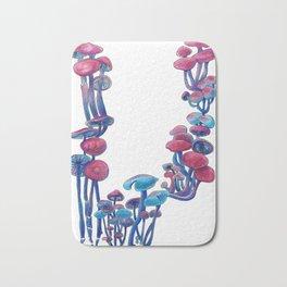 Dyed mushrooms Bath Mat