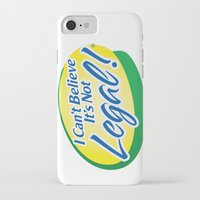cannabis iPhone & iPod Cases featuring Legalize Cannabis by WeedPornDaily