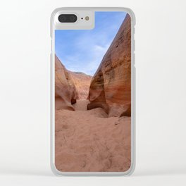 Colorful Canyon - 3, Valley of Fire State Park, Nevada Clear iPhone Case