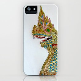 Naga (Thai Dragon) iPhone Case