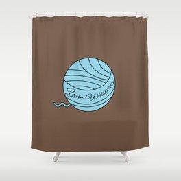 Yarn Whisperer (Multi-Crafter) Shower Curtain