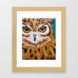 Hunter's Stare Framed Art Print