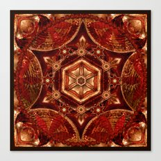 Meditation in Copper Canvas Print