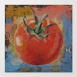 Vine Tomato Canvas Print