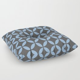 Mid-Century Modern Circles Floor Pillow