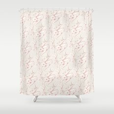 The Fox & Hare Shower Curtain