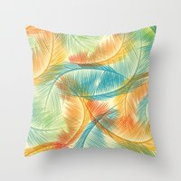 palms Throw Pillows featuring Palms by Guilherme Rosa // Velvia