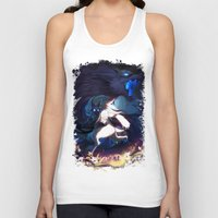 league of legends Tank Tops featuring League of Legends - Kindred by dNiseb
