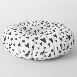 black and white Scandinavian Nursery Prints patterns Floor Pillow