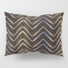 Bone Chevron Pillow Sham