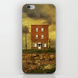 Oh, give me a home. iPhone Skin
