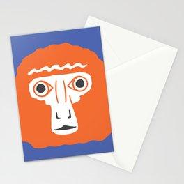 Monkey face Stationery Cards
