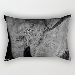 Big Baby Rectangular Pillow