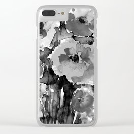 Floral Enchantment No.17D by Kathy Morton Stanion Clear iPhone Case