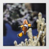 nemo Canvas Prints featuring Nemo by lulu althuwaini