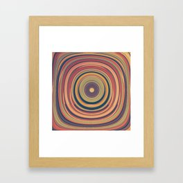 Through the Squound Window Framed Art Print