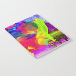 Grunge Abstract Watercolour 4 Notebook