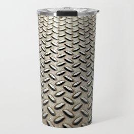 Metal Diamond Plate flooring Travel Mug
