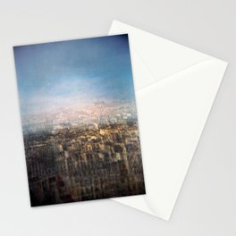Paris Multiple Exposure  Stationery Cards