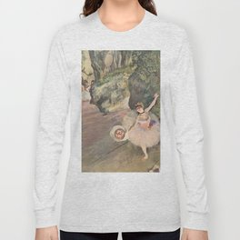 Dancer with a Bouquet of Flowers (Star of the Ballet) Long Sleeve T-shirt