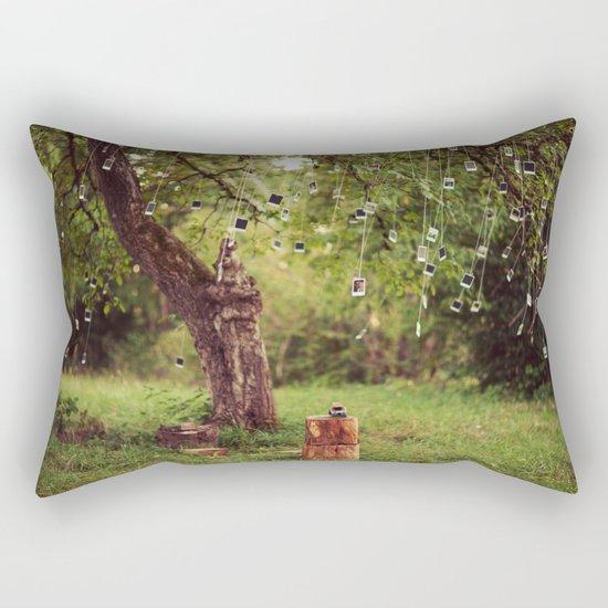 Polaroid Tree Rectangular Pillow