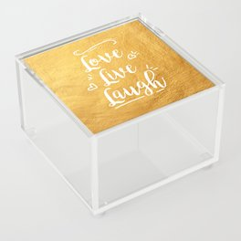 Love Live Laugh Acrylic Box