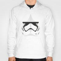 trooper Hoodies featuring Trooper by Guimov