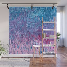 Impasto Brushstrokes Wall Mural