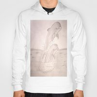 dolphins Hoodies featuring Dolphins by Shahadjef