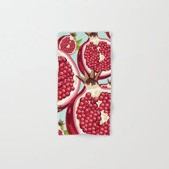 Pomegranate 2 Hand & Bath Towel