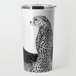 Cheetah Moon Travel Mug
