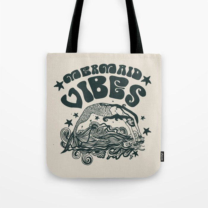 MERMAID VIBES Tote Bag