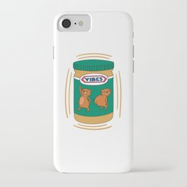 Peanut Butter Vibes - Smooth iPhone Case