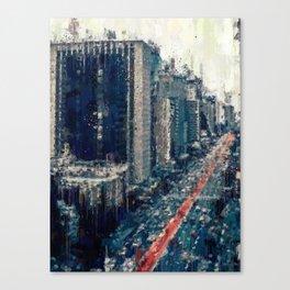 Paulista Avenue Canvas Print