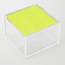 Fresh Lime Grid Acrylic Box