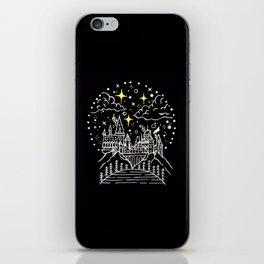 Hogwarts Castle Illustration iPhone Skin