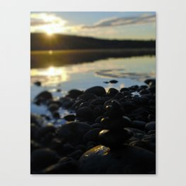 Sunshine and Stones Canvas Print