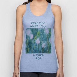 Abstract Dandelions WISH Unisex Tank Top