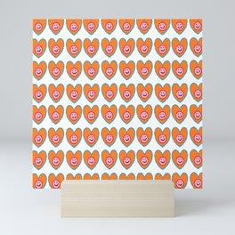 Smiley heart Mini Art Print