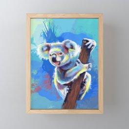 Koala Bear Framed Mini Art Print