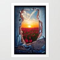 The door - for iphone Art Print